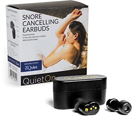 ZQUIET QuietOn Noise Cancelling Earbuds for Sleep