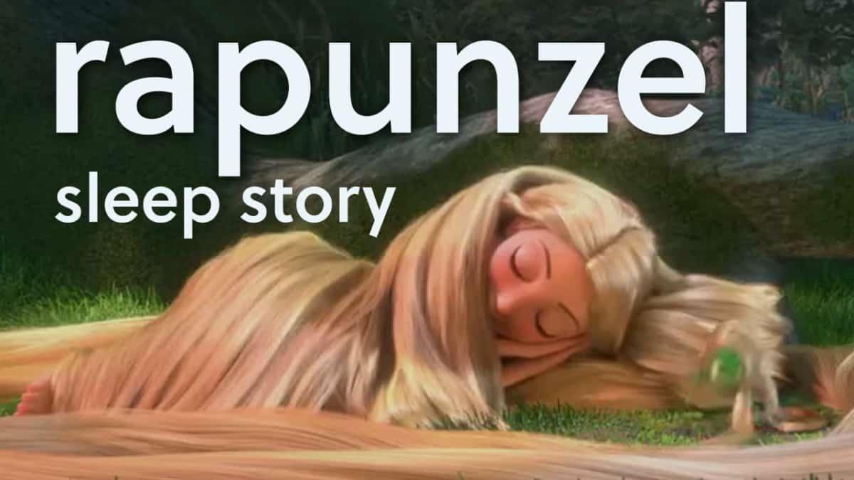 Rapunzel-Sleep-Bedtime-Story